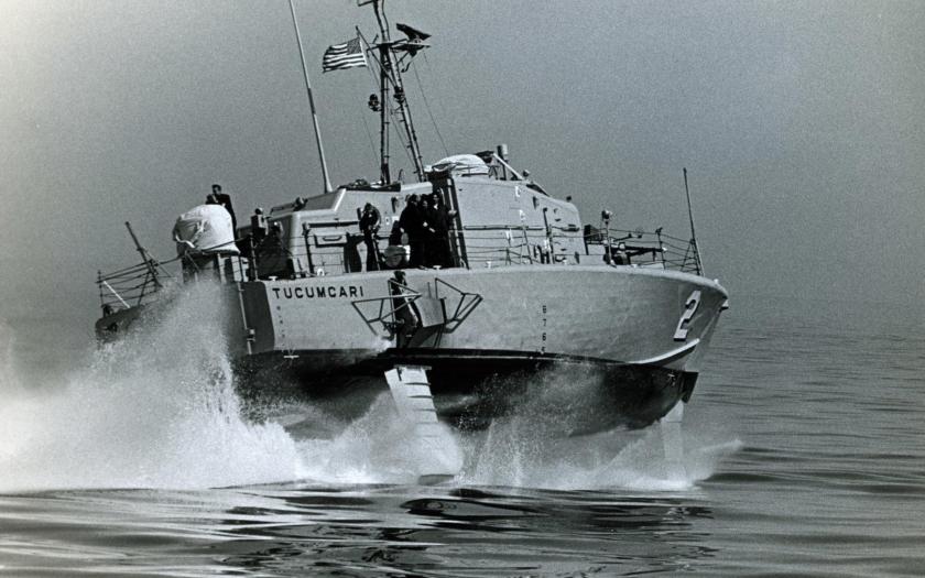 Nejrychlejší loď US Navy byla testována ve vietnamské válce