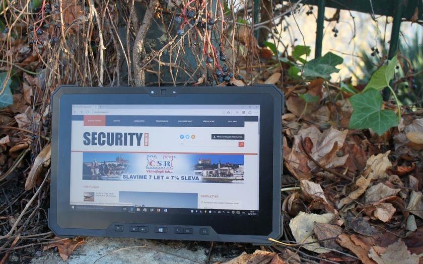 Dell Latitude 12 Rugged Tablet: Počítačový tank