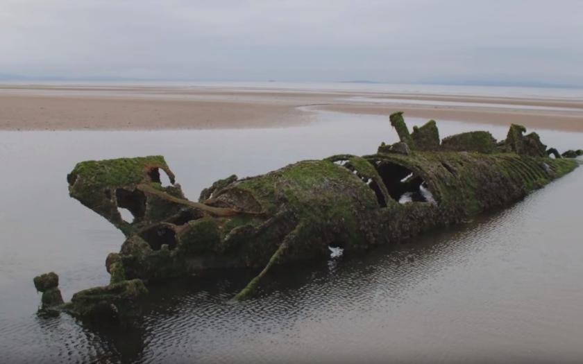 VIDEO: zapomenutá podmořská ocelová mostra