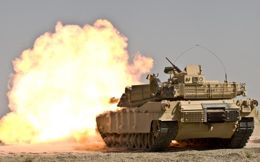 Video: Irácký Abrams likviduje komando ISIS
