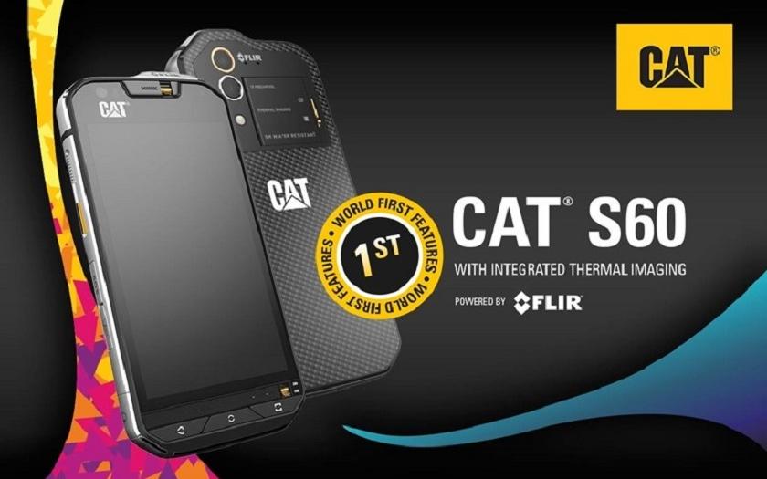 První telefon s termovizní kamerou: CAT S-60