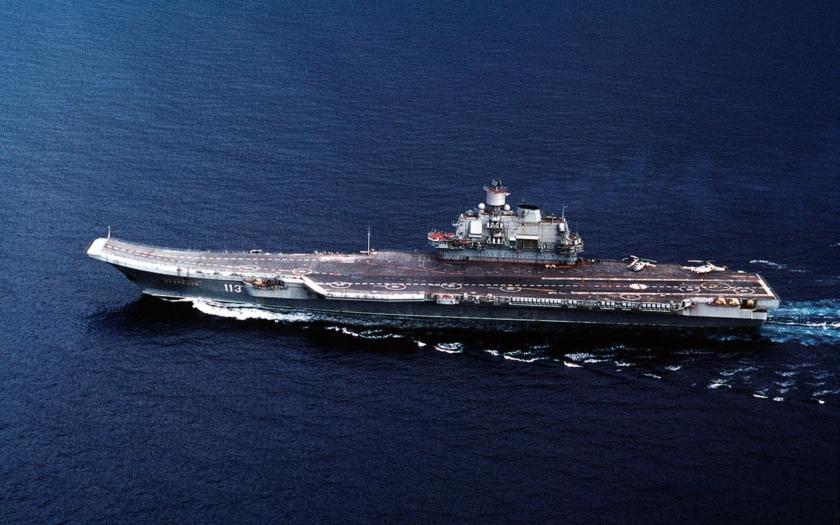VIDEO: Ruské sily v Stredozemnom mori doplní lietadlová loď