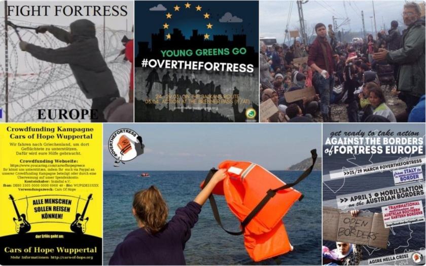 Řízená migrace pokračuje. Aktivisté vyhlásili EU &quote;boj s pevností Evropa&quote;