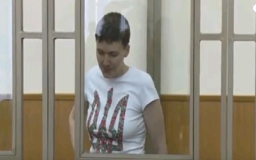 VIDEO: Savčenková začala nahlas spievať počas vynesenia rozsudku