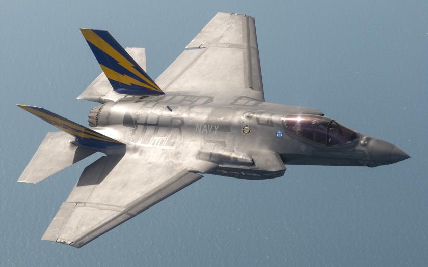 F-35 testuje inteligentní bombu Raytheon AGM-154