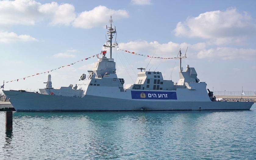 Izraelské námořnictvo se připravuje na teroristický útok na moři