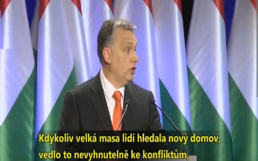 Tvrdé vyjadrenia Viktora Orbána.