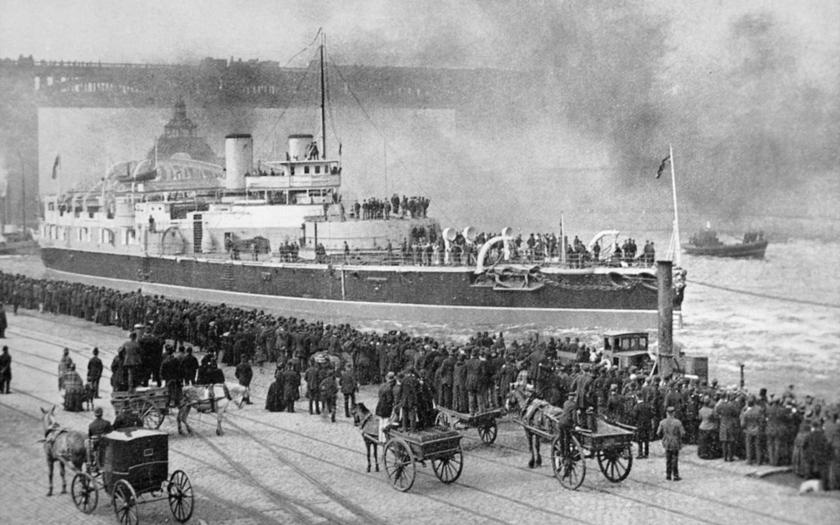 Nešťastná bitevní loď HMS Victoria
