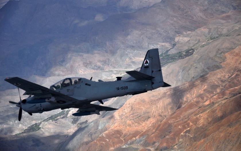 A-29 Super Tucano nahradí v Afghánistánu ruské Mi-35