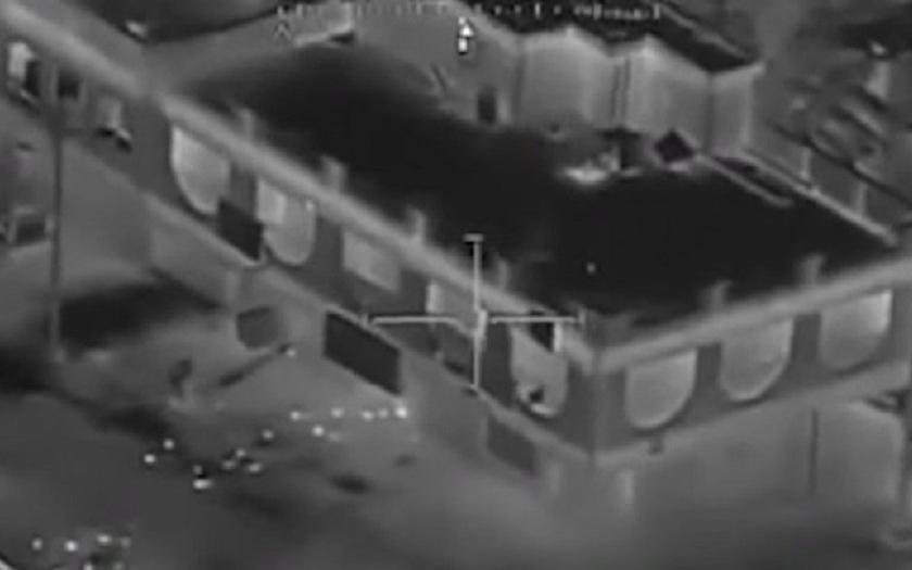 Video: AH-64 Apache likviduje teroristy schované v budově