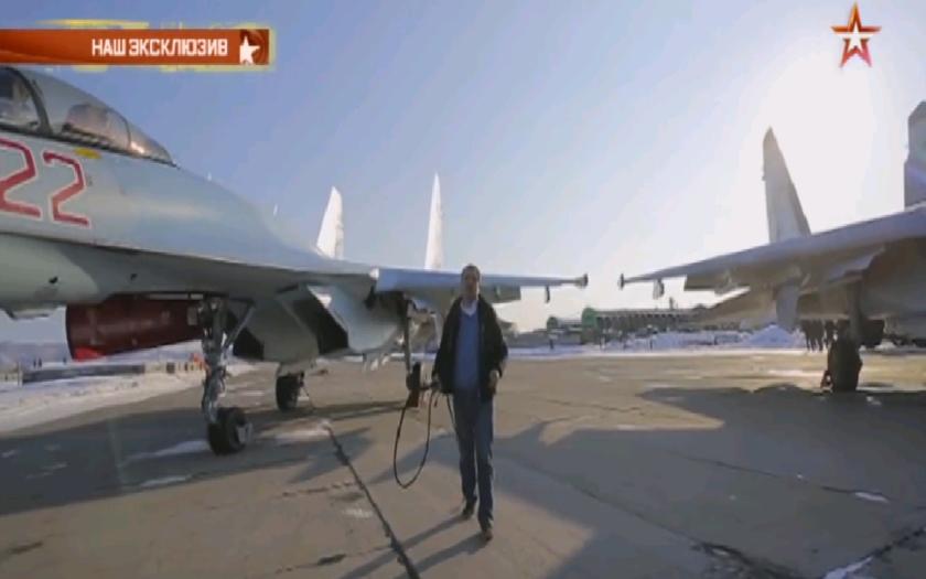 Reportáž TV Zvezda o SU-35.