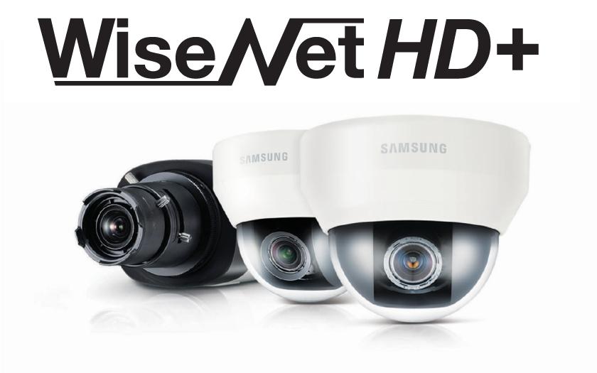 Nové kamery a digitální videorekordéry WiseNet HD+
