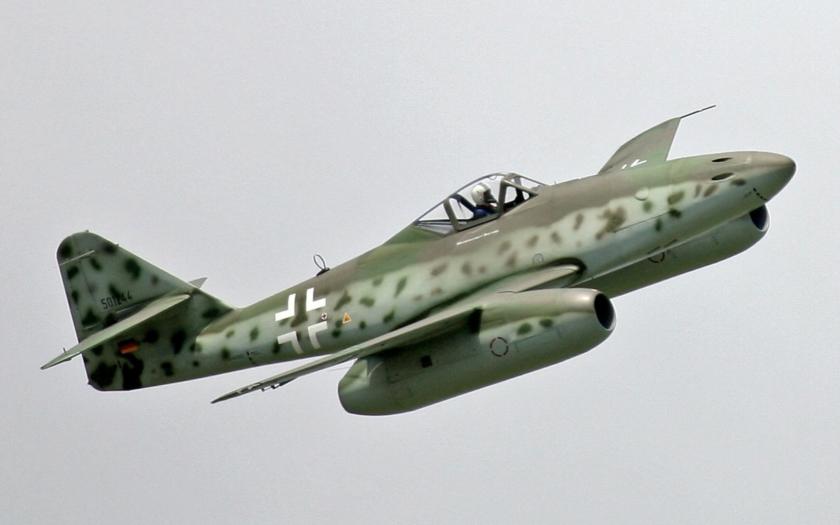Messerschmitt Me 262 bude znovu lietať nad Českou republikou, počas Aviatickej púte 2016 v Pardubiciach.