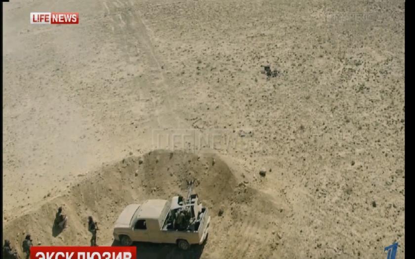 Dron zachytáva boje v Sýrii a kapituláciu jednotiek Islamského štátu