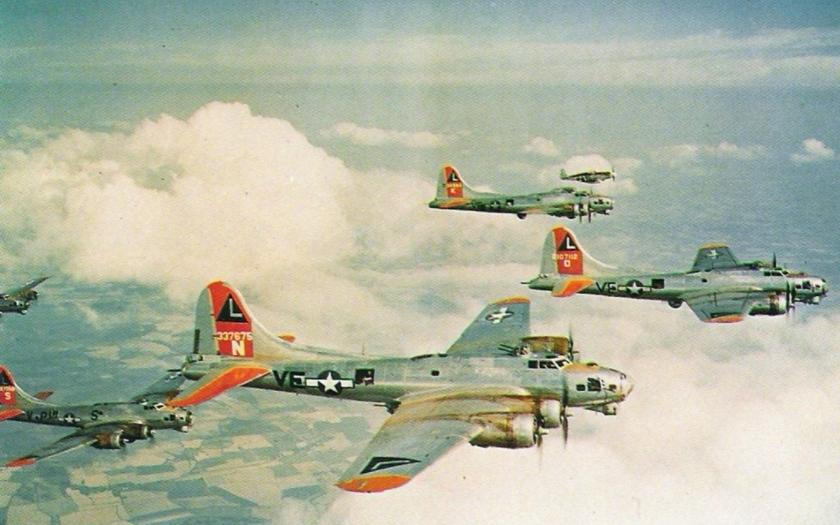 Lietajúca pevnosť, Boeing B-17