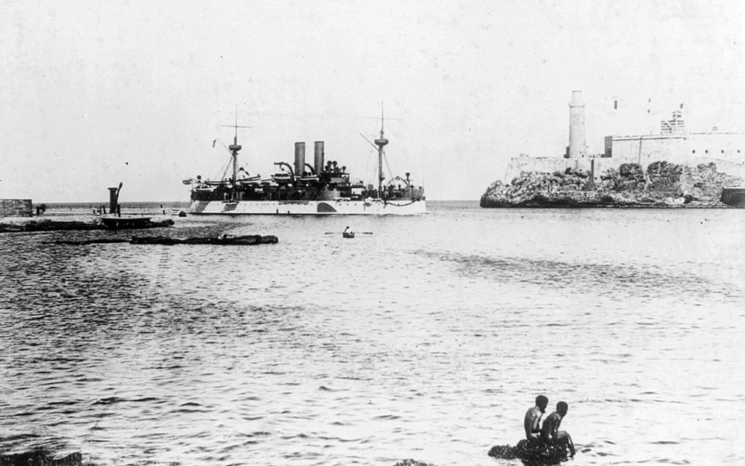 Exploze americké bitevní lodě v havanském přístavu vedla k španělsko-americké válce