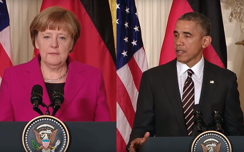 Obama: Merkelová je strážkyně Evropy