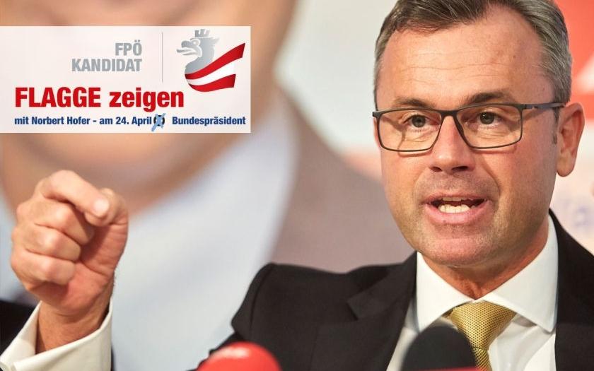 Politické zemětřesení v Rakousku. V prvním kole prezidentských voleb zvítězil Norbert Hofer
