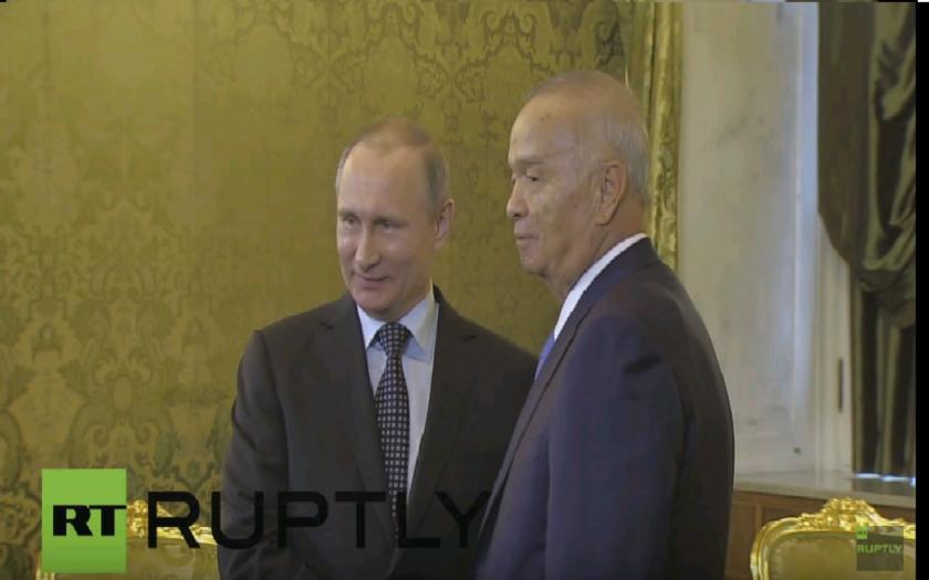 Vladimír Putin sa stretol so svojim náprotivkom z Uzbekistanu