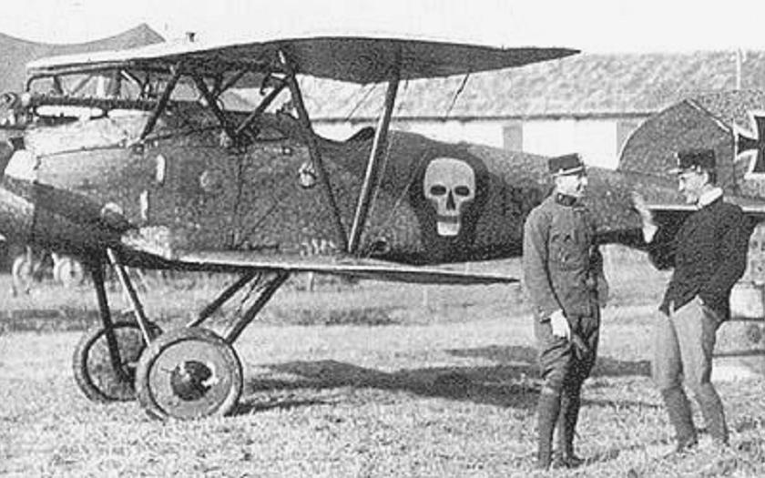 Otto Jindra - české letecké eso, které málem zabilo ruského cara