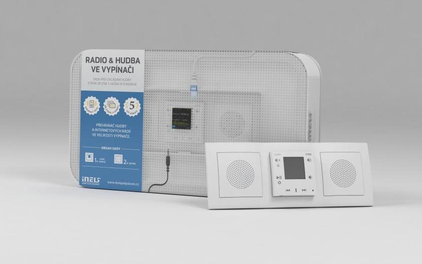 Rádio a hudební přehrávač, který splyne s vaším interiérem