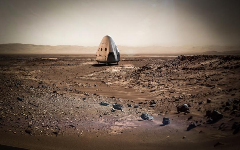 SpaceX plánuje misi na Mars v roce 2018