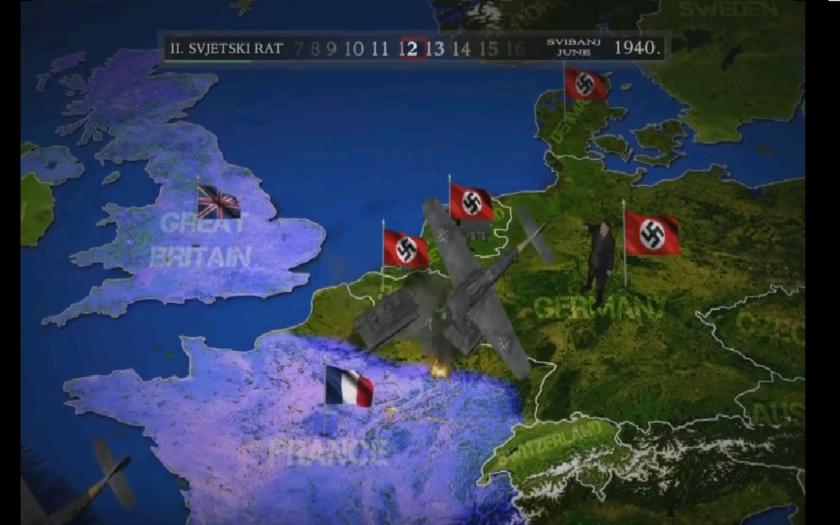 VIDEO: 2.svetová vojna v 5 minútovej animácii