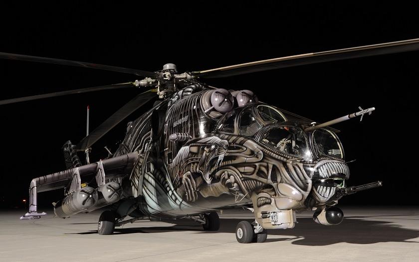 Alien Tiger Mi-24 221.letky