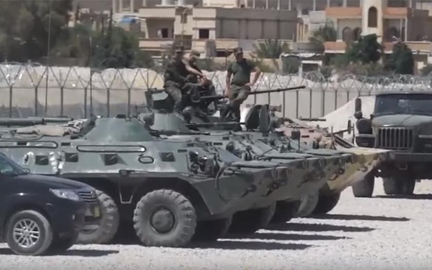 Rusko zřídilo základnu u Palmyry