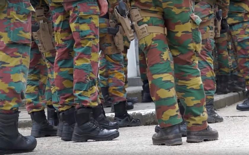 Desítky radikálních muslimů v belgické armádě