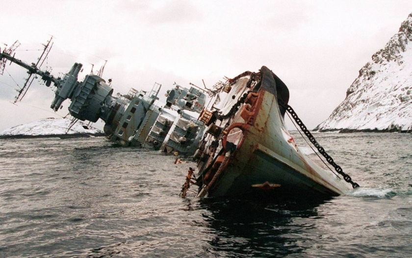 Poslední sovětský dělový křižník Murmansk