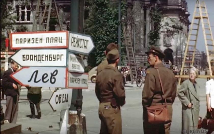 Video: Jak vypadal Berlín v létě 1945? Digitálně upravený film z poválečného města