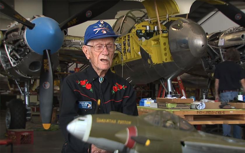 Video: Stoletý pilot se shledal se svou P-38