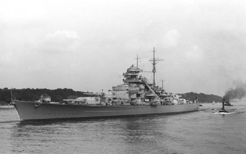 Bismarck vs Hood - originální záběry z bitvy v Dánském průlivu