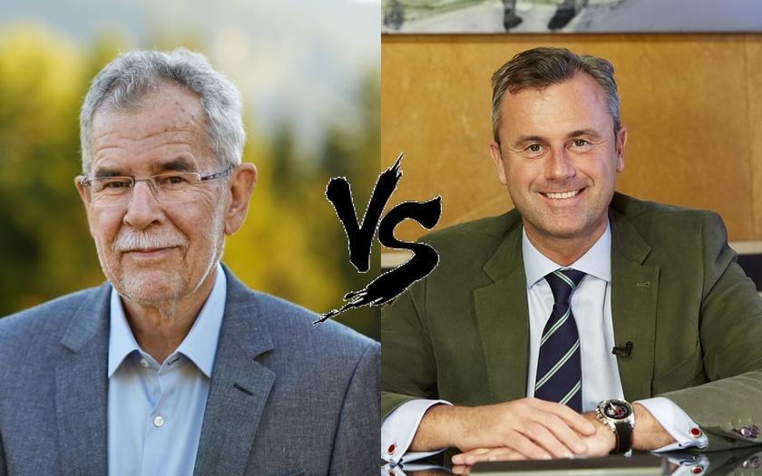 Infarktové finále v rakouských prezidentských volbách. 48,1% : 51,9%