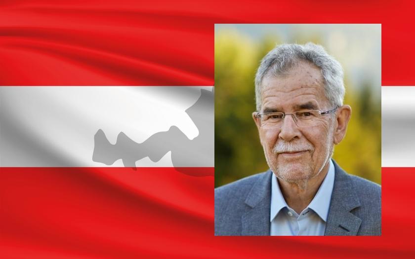 Rakouské prezidentské volby vyhrál Alexander Van der Bellen