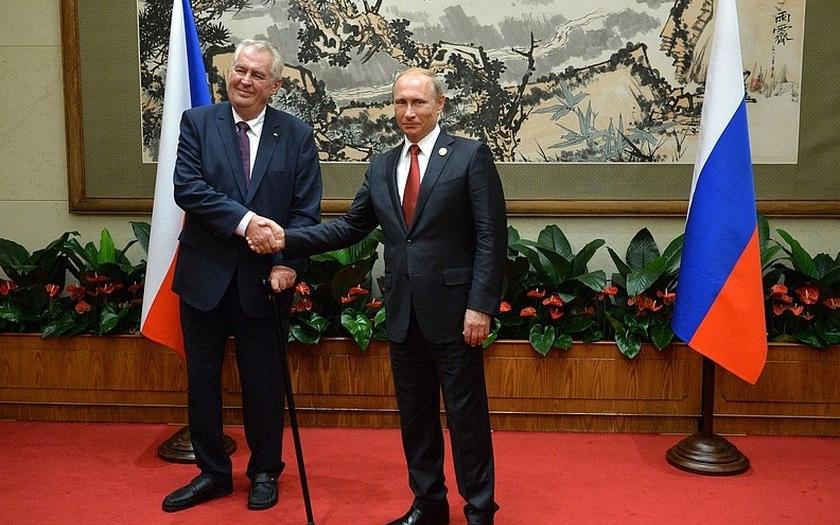 Prezident Zeman zpochybnil potřebnost amerického protiraketového štítu i protiruské sankce