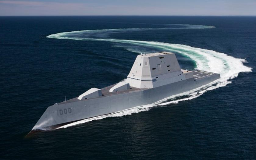 Video: První pohled do torpédoborce budoucnosti USS Zumwalt