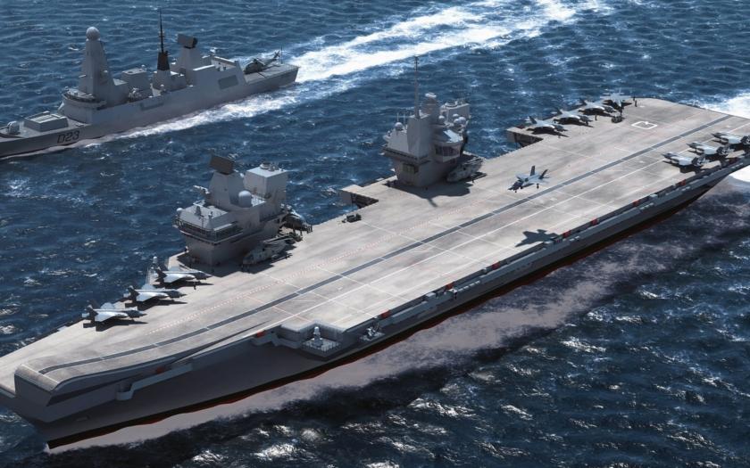 Royal Navy již dávno není pánem světového oceánu a veřejnost to vnímá