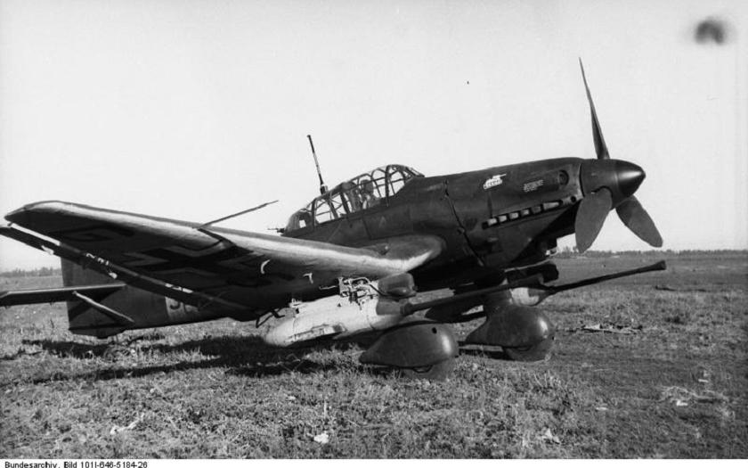 Junkers Ju-87 Stuka, jedna z nejznámějších zbraní druhé světové války