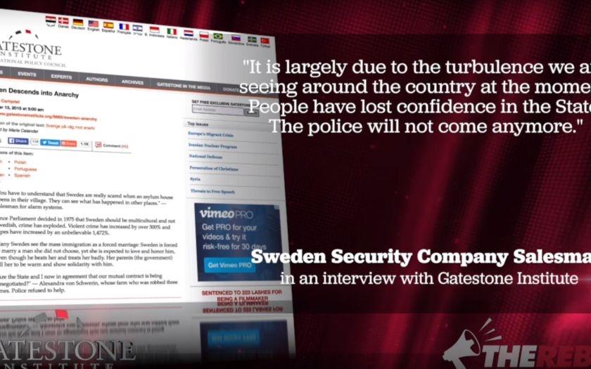 Video: Proč Švédsko zasáhla epidemie znásilňování?