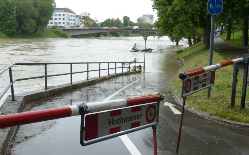 Záplavy v Bavorsku a Francii mají nejméně 5 obětí