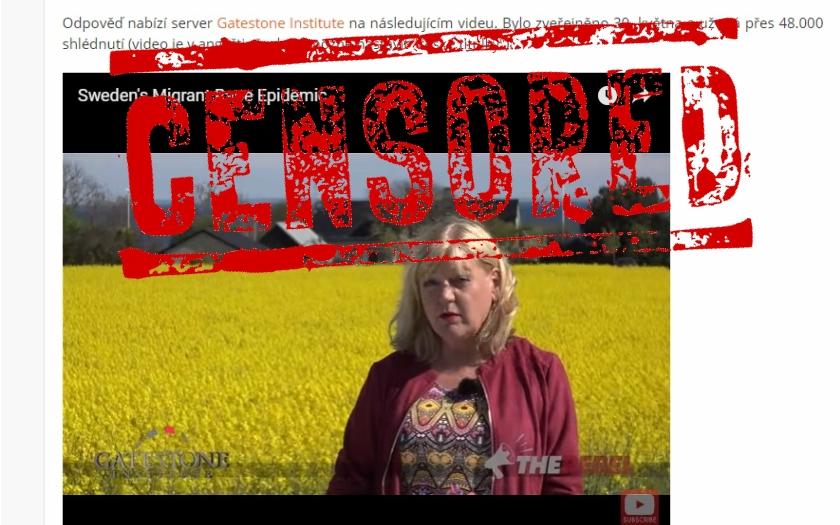 Švédské novinářce byl zablokován Facebook. Zveřejnila video o znásilňování žen uprchlíky