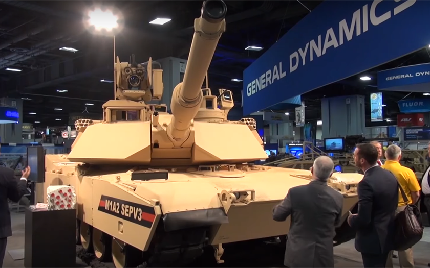 Abrams se Armaty nebojí: M1A2 SEP V3 do armády v roce 2017