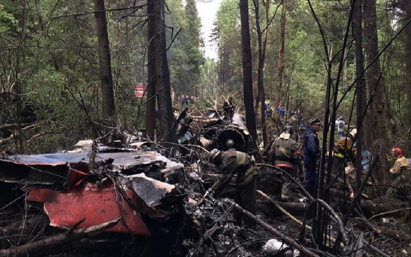 Stíhačka Su-27 havarovala neďaleko Moskvy. Pilot, major Sergej Jeremenko, neprežil.