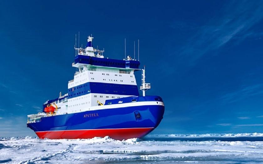 Video: Ukládání jaderného reaktoru do ledoborce Arktika