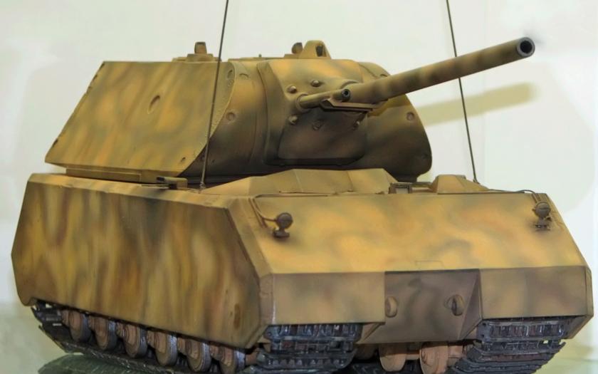 Nejtěžší tank historie - Panzerkampfwagen VIII Maus
