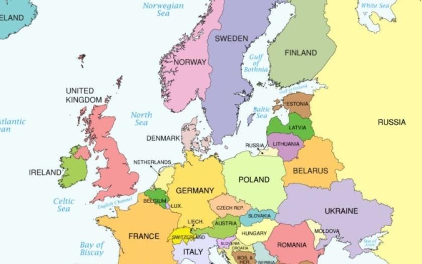 VIDEO: Takmer posledných 1000 rokov Európy v trojminútovej animácii