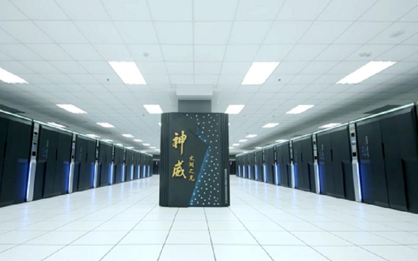 Nový nejvýkonnější počítač světa je z Číny a nejsou v něm americké procesory