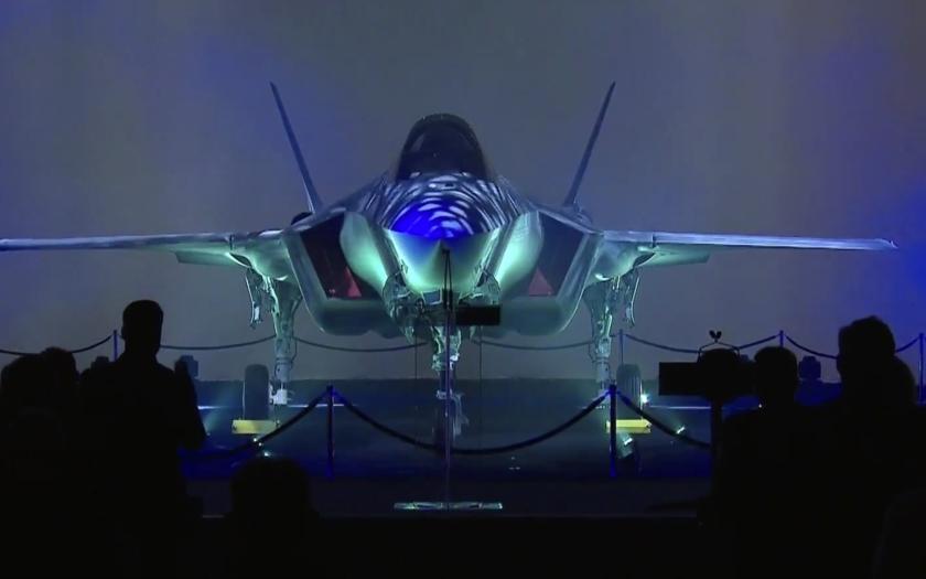 Lockheed Martin oficiálně představil první F-35 pro Izrael